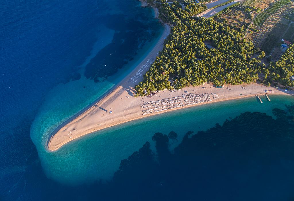 Zlatni Rat Beach Bol Island Of Brac
